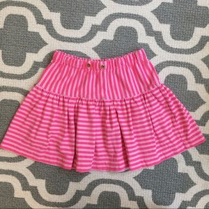 ✴️4/$15 Crewcuts striped skirt size 6-7